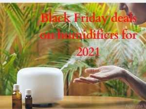 Black Friday deals on humidifiers for 2021